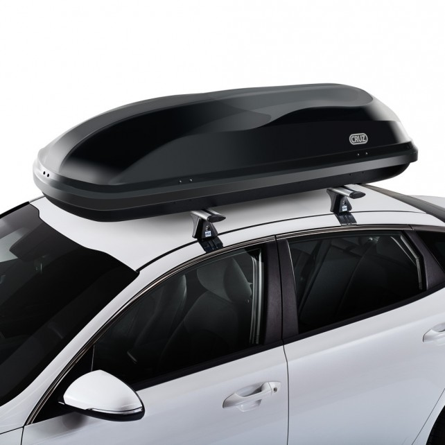 Roof box Cruz Box 430N -black glossy- U80